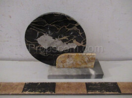Paperweight map of Czechoslovakia