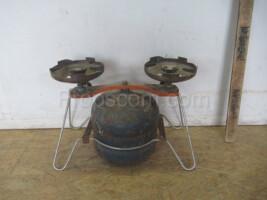 Two-burner gas stove