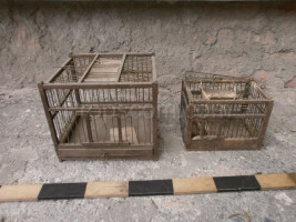 Wooden cage mix