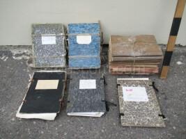 Waste paper - folders