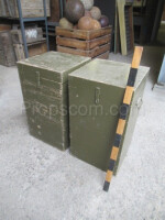 Wooden military high box