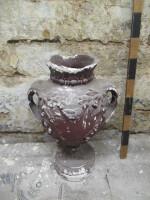 Decorative narrow vase