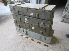 Wooden military long box