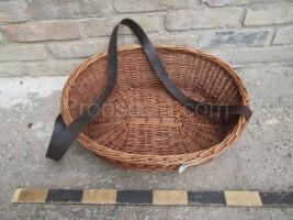 Wicker basket for goods