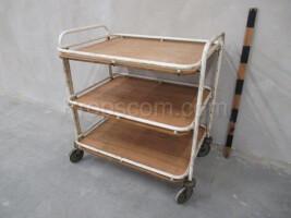 Hospital trolley transport