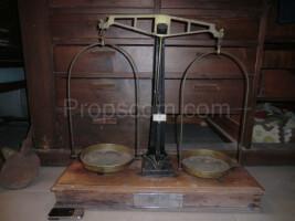 Merchant counter scales