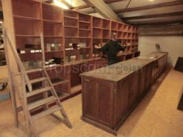 Furniture set - pharmacy, footwear, haberdashery, etc.