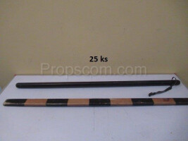 Military wooden baton
