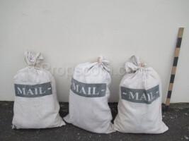 Linen mail bags