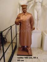 statue of Josef Vissarionovich Stalin