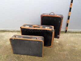 Set of three suitcases