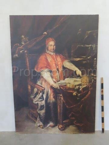 An image of a pope print