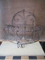 wire shelf semicircle