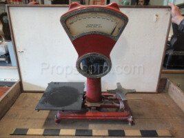 Counter commercial scales