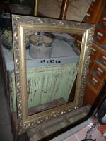 wooden frame gilded ornate