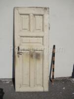 right white door