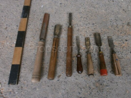Joiner's chisels mix
