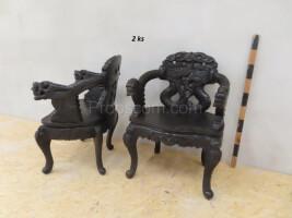 Armchair carved