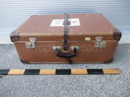 Training dummy set in a suitcase