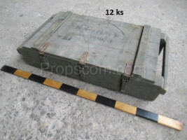 Wooden military box