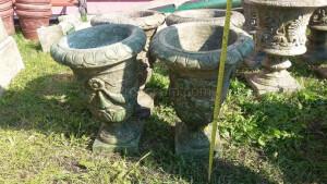 Ornamental flowerpot narrow
