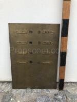 Brass doorbells