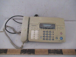 Office telephone with answering machine
