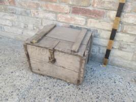 Wooden lockable box