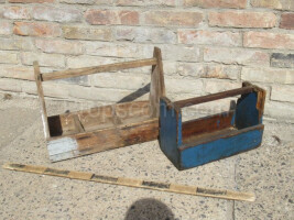 Wooden tool boxes mix