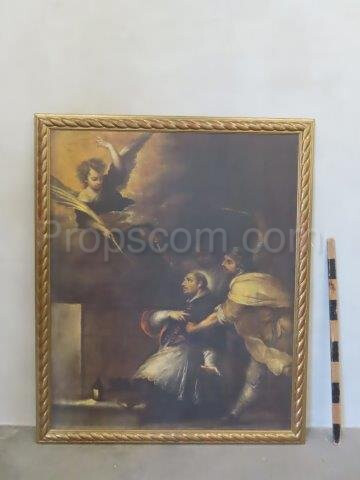 An image of God's court print