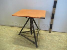 metal swivel chair