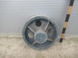 Industrial arc wheel