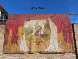 Theater curtain - double sided