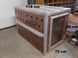 Galvanized sheet metal cage