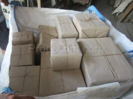 Paper packages of various sizes