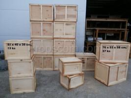 Wooden mix crates