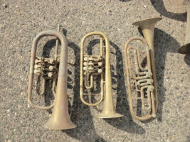 Various wind instruments