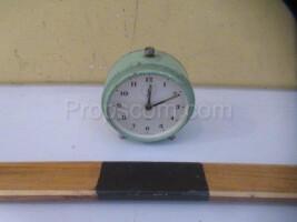 Classic X alarm clock.