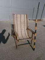 wooden folding garden chair