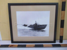 An image of military boats
