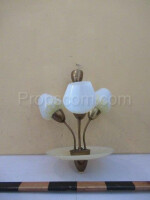 Chandelier frosted glass glass